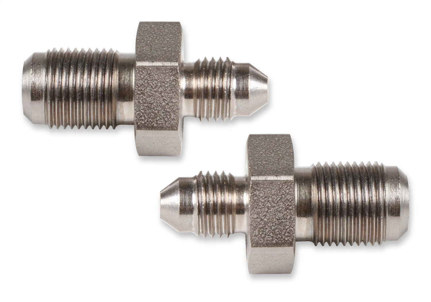 Aeroquip FCM2941 Steel 37-Degree Male to Metric Flare Brake Adapters Pack of 2