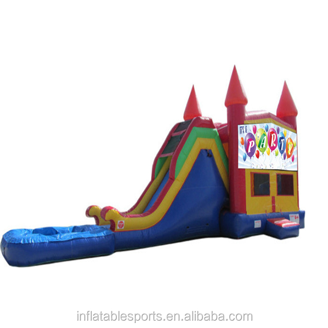 Used commercial jumping castles sale,cheap bounce houses,Party Jump & Slide Combo