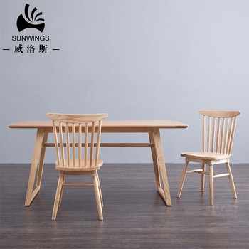 Nordic Style Furniture Mdf Dining Table Made In China For