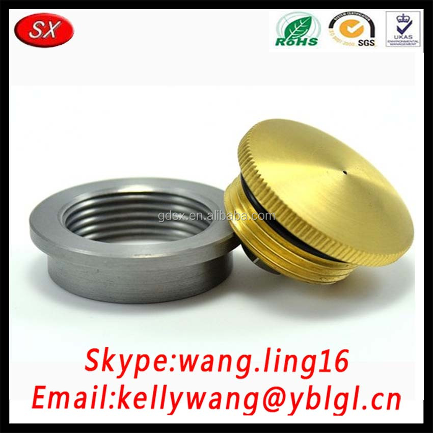 OEM Universal Locking Chorme Tractor Fuel Tank Caps Manufacturer