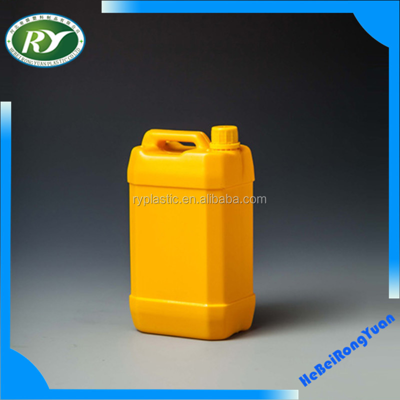 High quality HDPE lubricant Oil plastic bottle with Screw cap