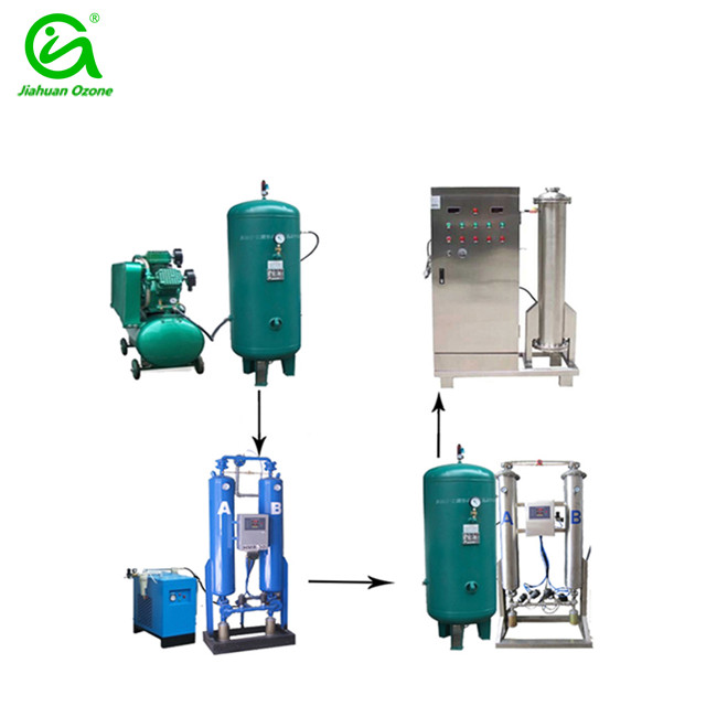 250g portable installation ozone generator for commercial laundry disinfection