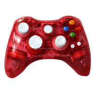 Game Wireless Gamepad Joystick With Led Light For Microsoft 360 ...