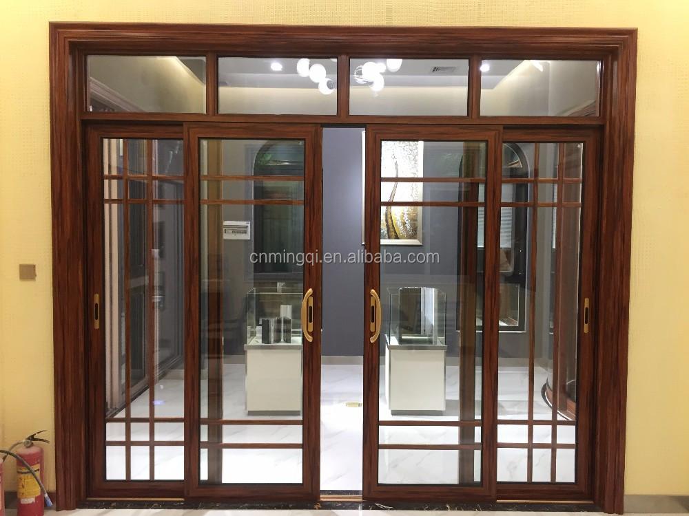 Main Sliding Door Grill Design For Living Room Aluminium Door - Buy  Aluminium Door,Main Door Grill Design,Sliding Door For Living Room Product  on