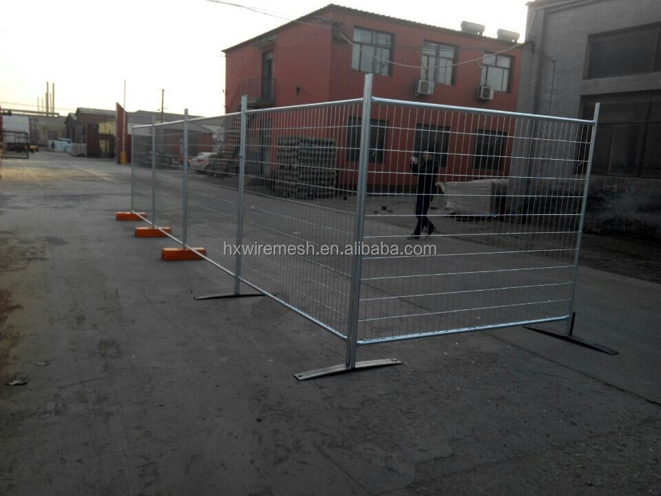 Hot sale 6ft Height temporary wire mesh fencing panels / temporary yard fencing / removable metal fencing