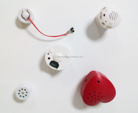 Micro sound module for soft plush toys Plastic Casing Recordable Sound Module For Toys