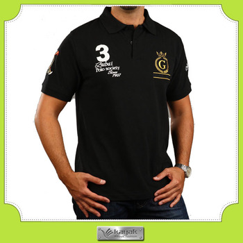 Custom Men S Slim Fit Blank Polo T Shirt With Own Embroidery Design
