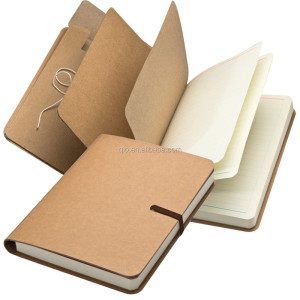 new eco friendly recycled 70sheets notebook organizer set with file pocket NOTEBO903