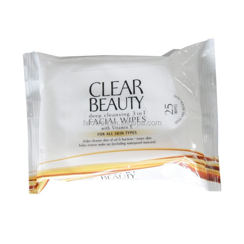 makeup remover wet wipes deep cleansing 3 in 1