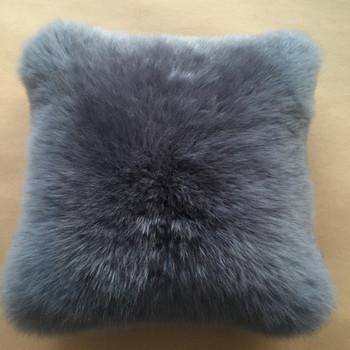 Factory Direct Sale Lambskin Sheep Skin Fur Cushion Cover,Christmas Throw  Pillows - Buy Chrismas Throw Pillows,Lambskin Sheep Skin Fur Cushion ...