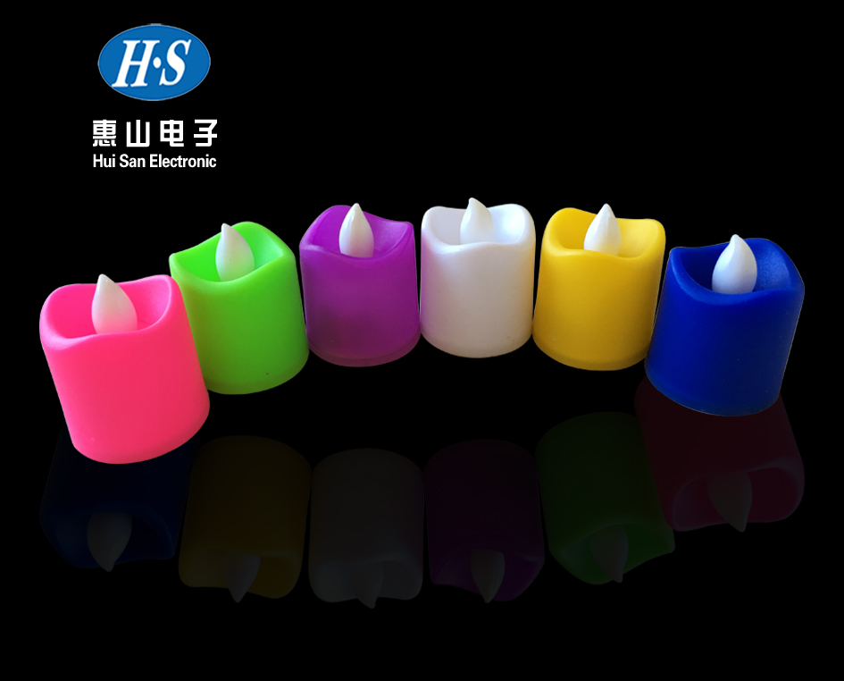 High Quality 6 colors electronic fashion LED candle