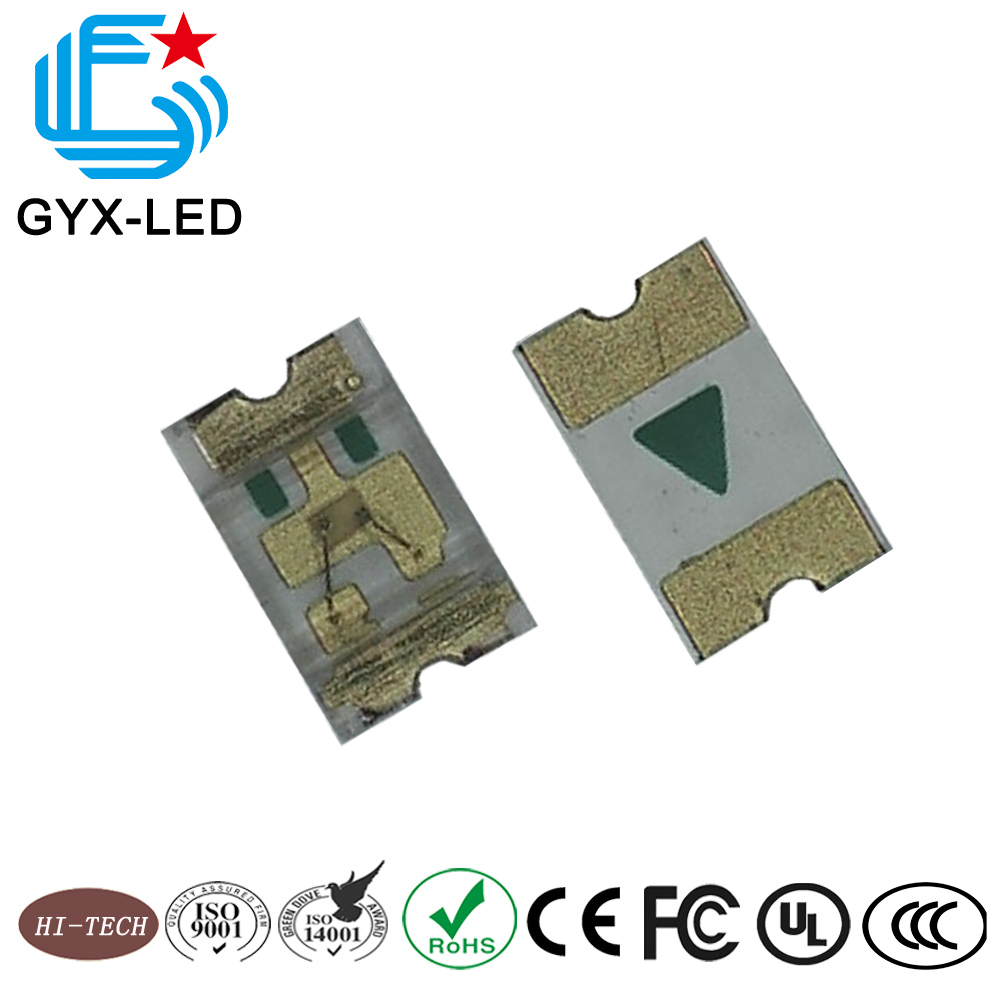 Shenzhen factory 0805 SMD various color for option InGaN lighitng emitting diode