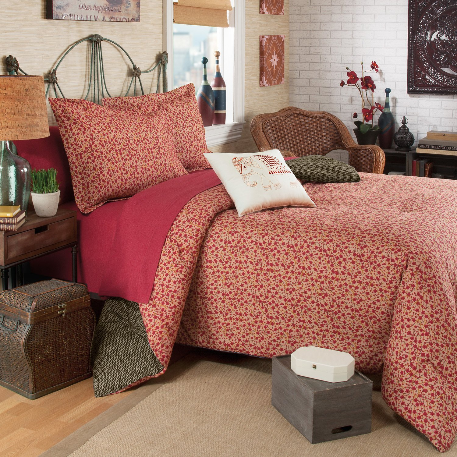Cheap Red King Comforter Find Red King Comforter Deals On