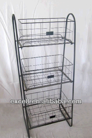 Unique Vintage 3 Tier Fruit Basket Stand - Buy 3 Tier Fruit Basket Stand  CN69