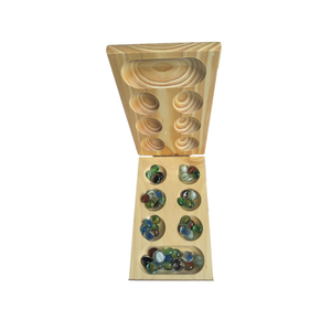 Mancala bamboo wooden game toys for children