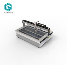 Fine 5 Axis Waterjet Cutting Machine for Metal Stone Glass Cutting with Patent Certifications in a Cheap Price in China