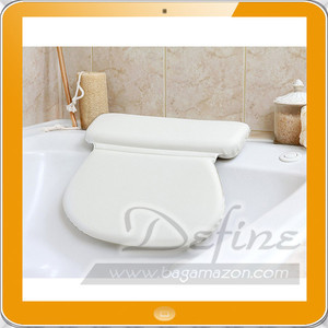 Luxury Comfortable Non-slip Suction Cups Spa Bath Pillow