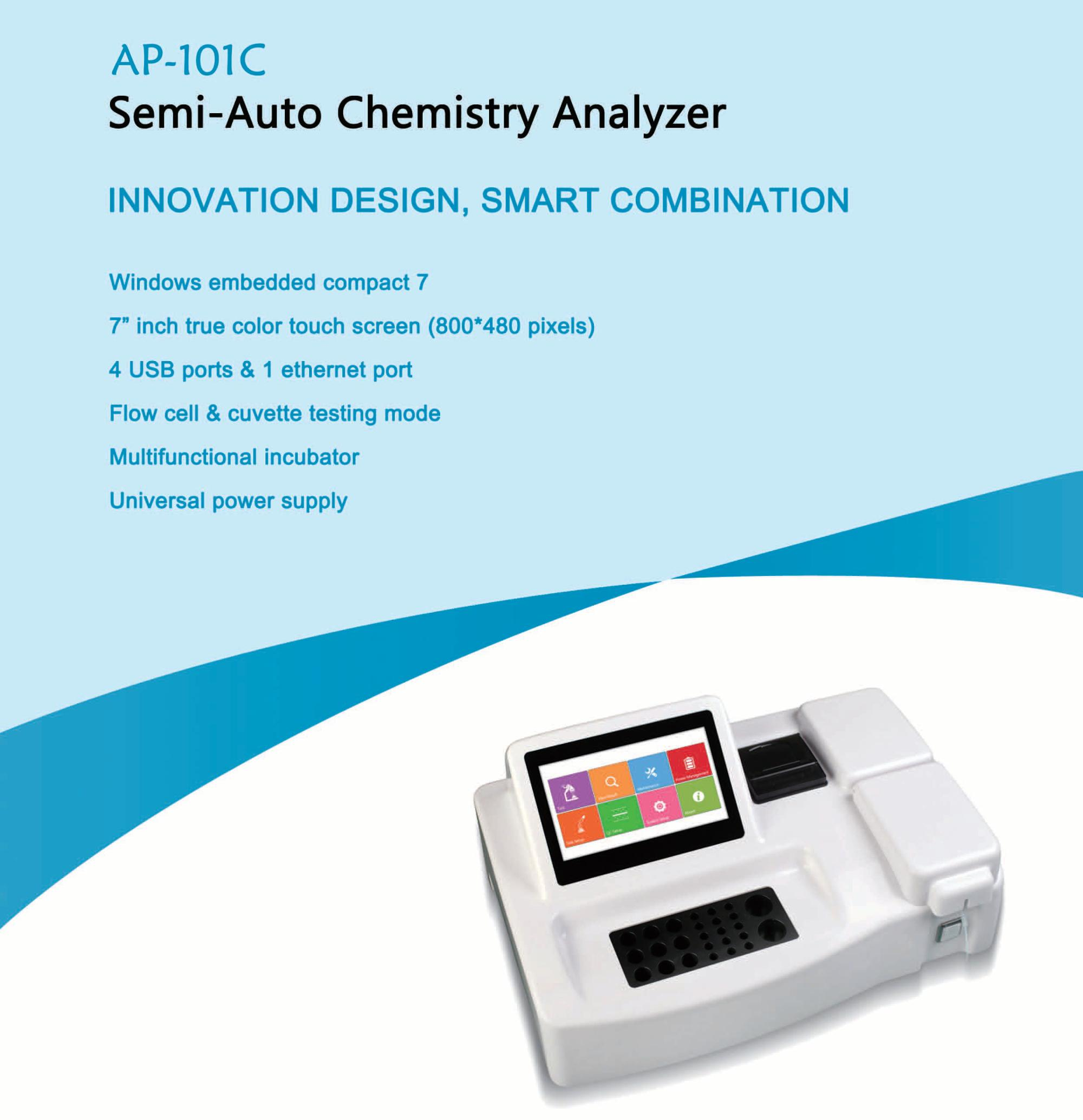 Semi Automatic Chemistry Analyzer Buy Chemistry Analyzer