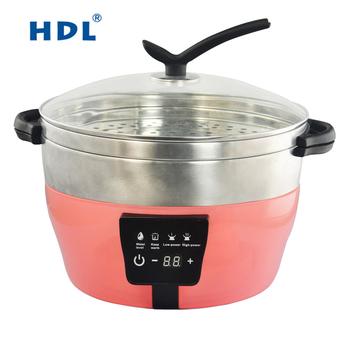 Tidak Ada Asap Dapur Panas Uap Steamer Pot Memasak 2017 Produk Baru