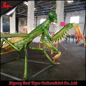 Theme park of animatronic simulation insects model for sale