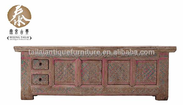 Cinese tailai mobili antichi in legno massiccio matt soggiorno