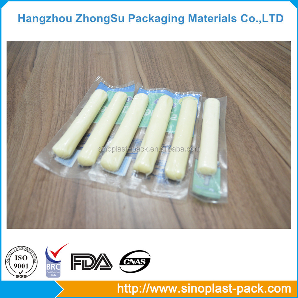 cheese food plastic clear packaging stretch film jumbo roll