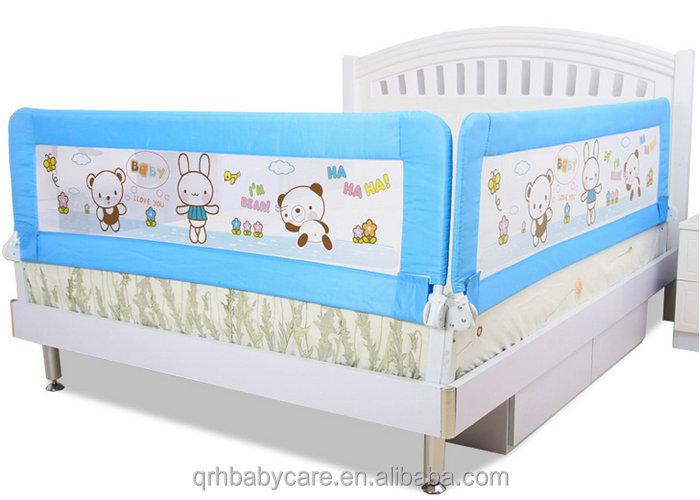Safety Children Bed Fence Folded Toddler Guard Rails