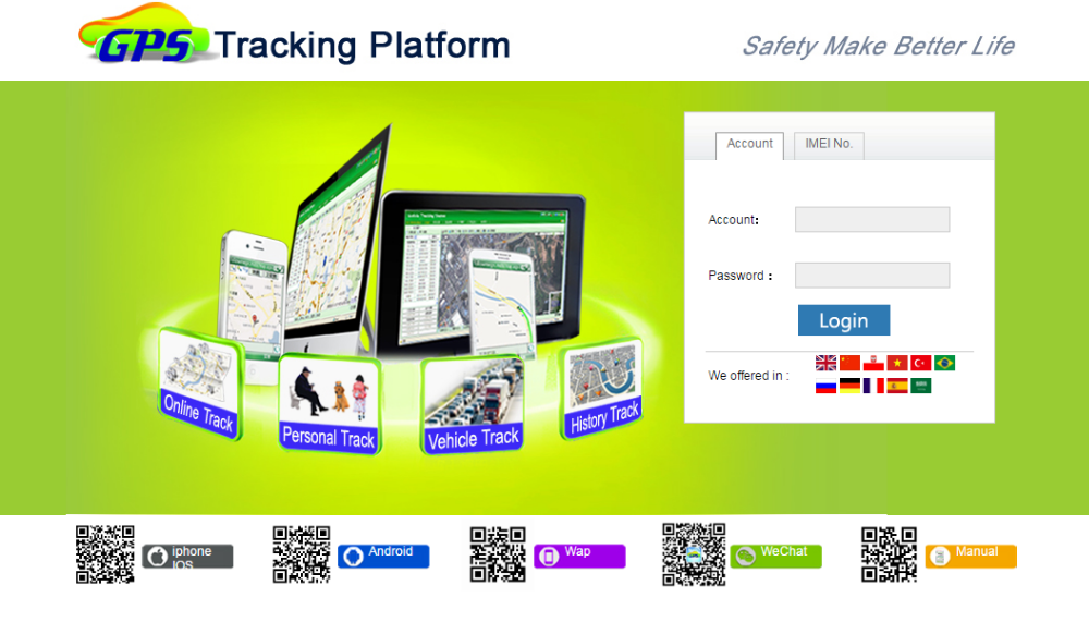 GPS Tracking station