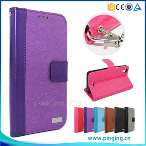 2016 Fashion new idea folio cover leather case for Itel 1407 , mobile phone case for Itel 1407