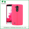 High quality phone accessories soft TPU leather pattern finish mobile case phone back cover for LG G3