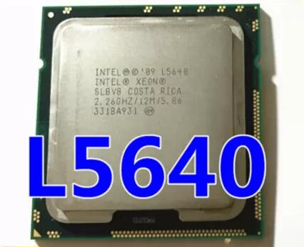 Intel Xeon L5640 SLBV8 2.26GHz 12MB 5.86GT//s LGA 1366 Six-Core CPU