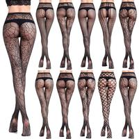 New Fashion Young Girl And Women Hosiery Nylon Lace Mesh Sexy Silk Stockings