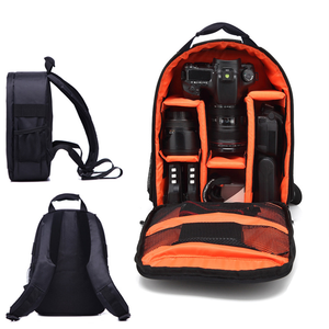 Large Waterproof High Quality Traveling Nylon Shockproof Camera Bag