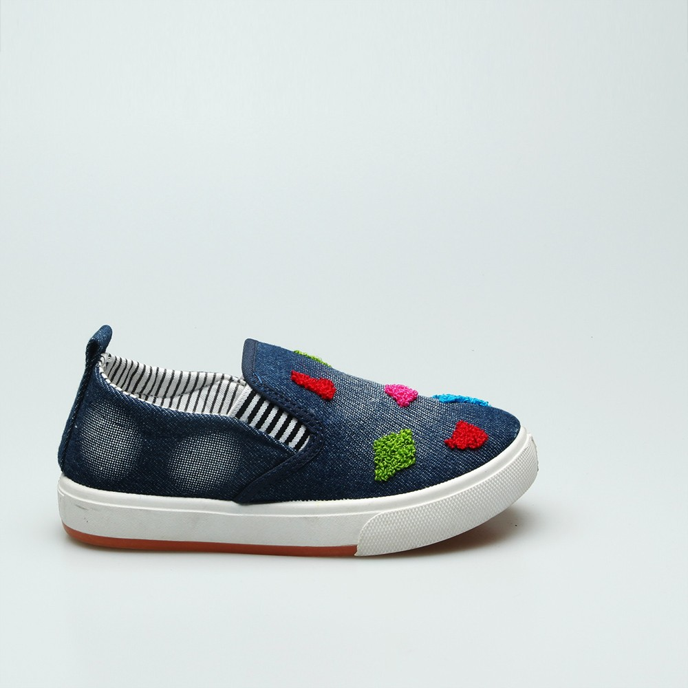 New model wholesale casual cute low price canvas shoes for girls