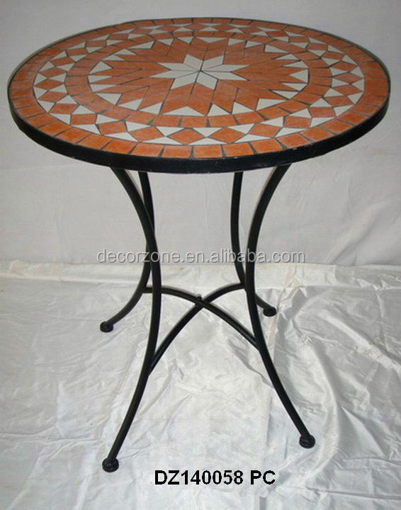 Gartenmöbel Mosaik Stein Tisch Und Stuhl Bistro Set Set Im