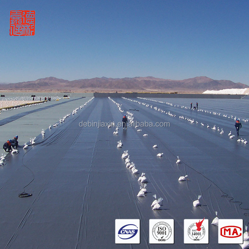 Other Waterproofing Materials Smooth geomembrane fish farm liner