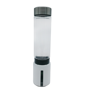 Beauty and health care supply simple design hydrogen water bottle , energy H2 water producer Korea , PEM and SPE technology