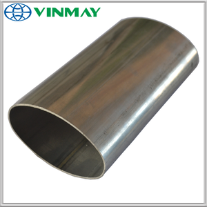 Customized shape stainless steel pipe 304 201 stainless steel Oval tube