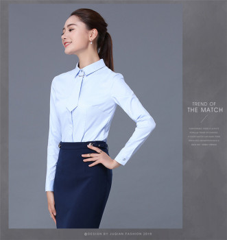 European Design Ladies Blouses Skirts Latest Formal Skirt Blouse ...