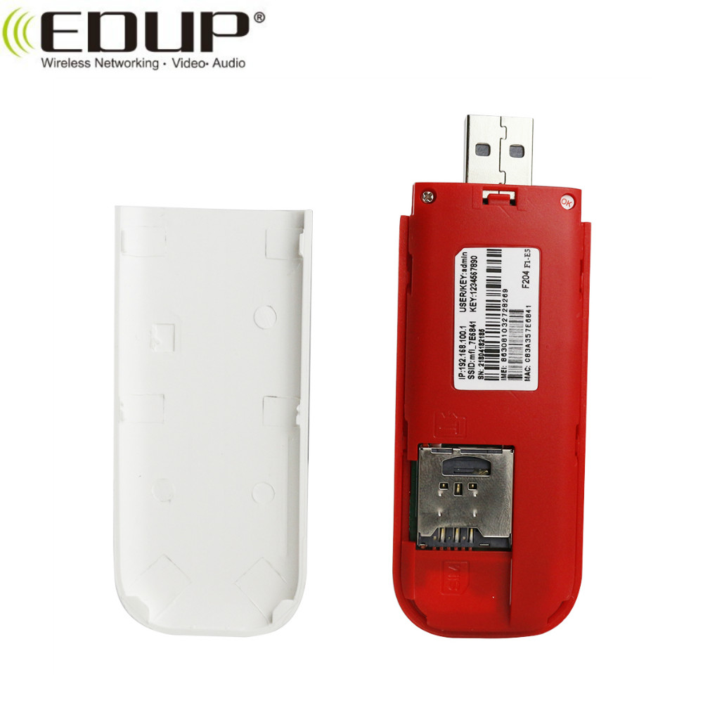 EDUP EP-EP-N9518 modem 4g wifi Lte mobile di wifi dongle con slot per schede sim