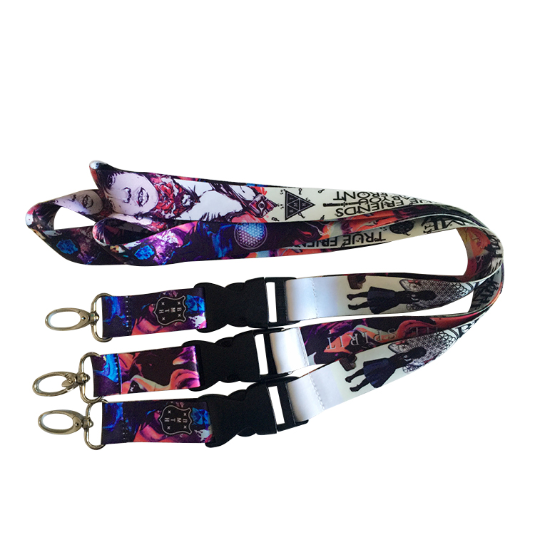 Cool Polyester String Holder Mobile Phone Medal air nylon lanyard for bows