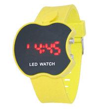 Модная мягкая силиконовая цифровые часы для женщин и мужчин люксовый бренд светодиодный спортивные наручные часы для мальчиков и девочек Ч...(Китай)