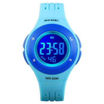 2018 Kids Digital Watches 50M waterproof Fashion new Plastic Wrist Watch SKMEI 1455