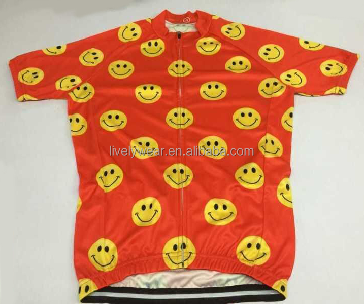 Livelywear -- breathable plus size cartoon funny custom cycling kit/bicycle shirt