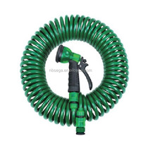2014 best quality 5 function spray gun fitted polyurethane garden hose