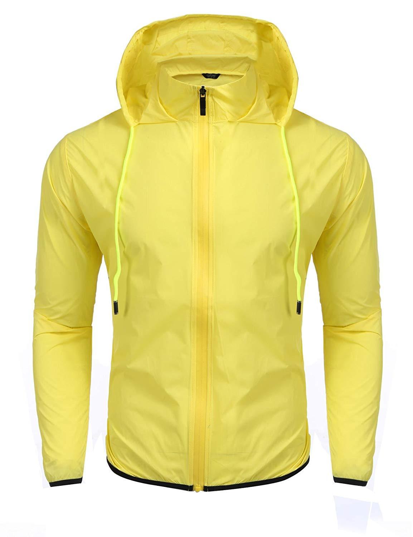 XQS Mens Waterproof Windproof Rain Snow Jacket Hooded Fleece Ski Coat