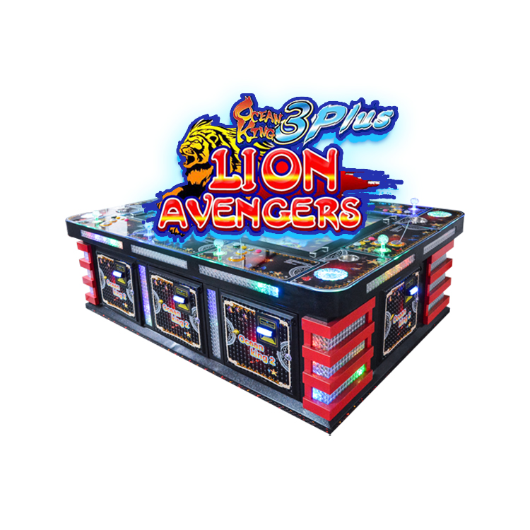 Arcade Game Ocean Hunting Fishing Game Machine 8 Players Fish Machine Gambling Table, As picture