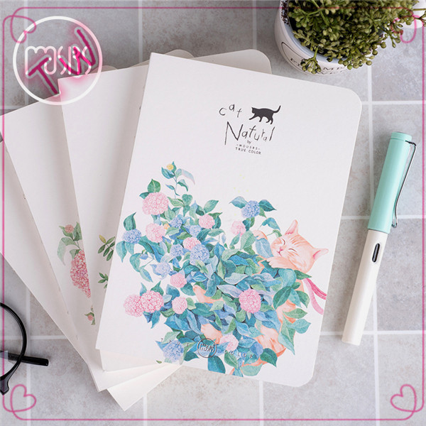 cheap bulk United Arab Emirates hotsale office stationery wholesale custom printed flower design colorful paper notebooks218