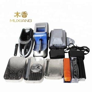 Hand roll Roller Maker Metal Tobacco Rolling Cigarette Making Machine