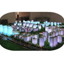 Miniature beautiful architectural model / scale building model